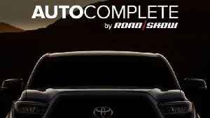 AutoComplete: Toyota teases a refreshed Tacoma for Chicago, saying it's
