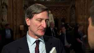 Dominic Grieve 'not downhearted' over Brexit defeat [Video]
