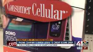 Cell phone company's mistake leads to man's credit score grief [Video]