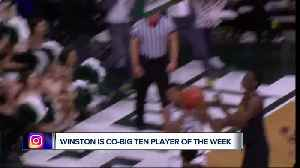 Cassius Winston ties MSU mark with fourth Big Ten player  of the week award [Video]