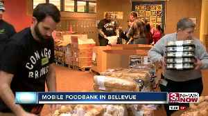 Mobile food bank relieves government employees and families following shutdown [Video]