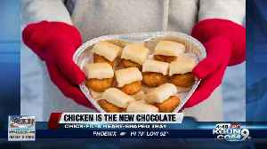 Chick-fil-A serving up Valentine's Day-themed nugget tray [Video]