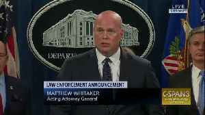 Acting AG Whitaker thinks Mueller probe is nearing end [Video]