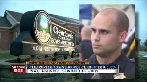 Off-duty Clearcreek Township police officer killed in head-on crash [Video]
