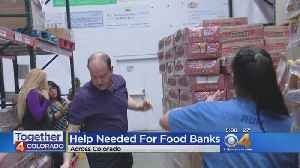 Coloradans Asked To Help Replenish Food Banks Exhausted During Shutdown [Video]