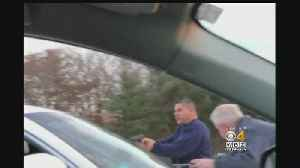 Armed Man Stops Mass Pike Road Rage Incident [Video]