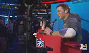 Super Bowl Opening Night: Tom Brady Loves The Haters [Video]