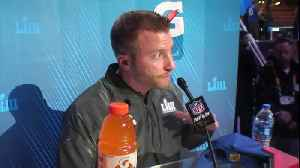 Los Angeles Rams head coach Sean McVay's full press conference at Super Bowl LIII Opening Night [Video]