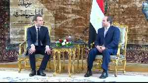 France's Macron presses Sisi on human rights in Cairo meeting [Video]