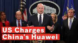 US Justice Department Files Criminal Charges Against China's Huawei [Video]