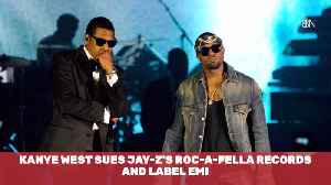 Kanye Sues Jay-Z For A Bunch Of Money [Video]