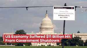 What Did The Government Shutdown Cost The U.S. Economy [Video]