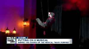 Mary Poppins production flying high at Alden High School [Video]