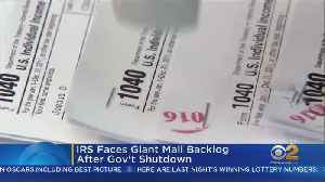 IRS Faces Giant Mail Backlog After Gov't Shutdown [Video]