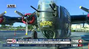 Wings of Freedom tours available in Fort Myers - 7:30am live report [Video]