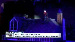 Student led production of Mary Poppins flying high [Video]