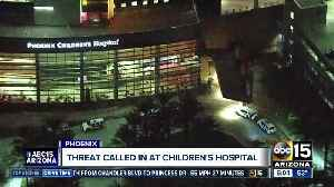 Anonymous threat called in to Phoenix Children's Hospital [Video]