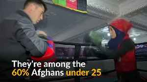 Trendy Afghan teens wary of any future with the Taliban [Video]