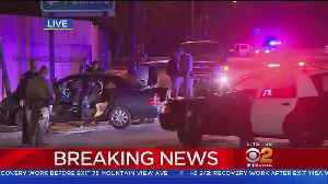Police Pursuit Ends With Crash In Hacienda Heights [Video]