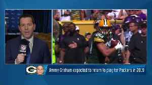 Ian Rapoport: Green Bay Packers tight end Jimmy Graham 'expected back' with Packers in 2019 [Video]