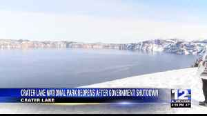 Crater Lake National Park Reopens After Government Shutdown Ends [Video]