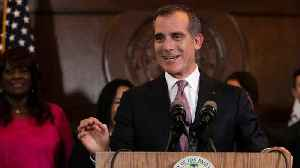 Los Angeles Mayor Eric Garcetti Confirms He Will Not Run For President [Video]