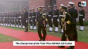 Vice Admiral G Ashok Kumar takes charge as new Vice Chief of Naval Staff [Video]