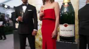 Champagne Taittinger Toasts SAG Awards [Video]