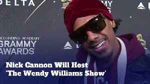Nick Cannon Will Host 'The Wendy Williams Show' [Video]