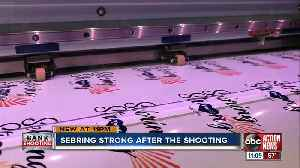 Printing company making  'Sebring strong' decals to raise money for SunTrust bank shooting victims [Video]