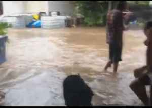 Home Flooded as Severe Weather Rages in North Queensland [Video]