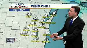 Michael Fish's NBC26 Wind Chill weather forecast [Video]