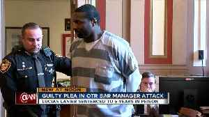 Man pleads guilty to assaulting Japp's bar manager [Video]