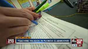 Public schools could soon teach religion, evolution and climate change [Video]