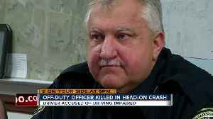Off-duty officer killed in head-on crash with impaired driver [Video]