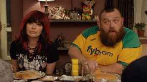 Lena Headey, Nick Frost Talk About WWE In 'Fighting With My Family' [Video]