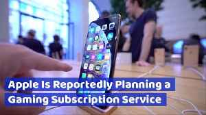Breaking News: There Will Be A New Apple Gaming Subscription Service [Video]