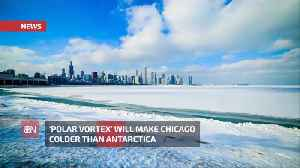 Chicago Will Be Colder Than Antarctica [Video]