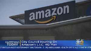 City Council Amazon Hearing Today [Video]