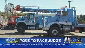 PG&E To Face Judge Following Chapter 11 Bankruptcy Filing [Video]