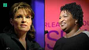 Sarah Palin Insults Stacey Abrams With 'Literal Loser' Tweet [Video]