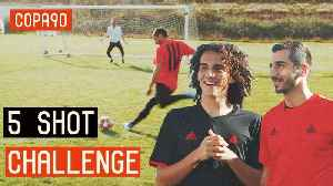 5 Shot Challenge with Mkhitaryan & Guendouzi! ft. Poet and Vuj [Video]