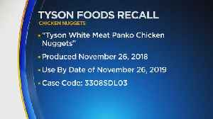 Tyson Foods Recalls More Than 36,000 Pounds Of Chicken Nuggets After Possible Rubber Contamination [Video]