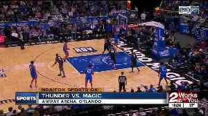 Paul George, Dennis Schroder lead Thunder to win at Orlando, extend winning streak to 6 games [Video]