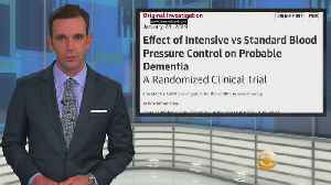 Lowering Blood Pressure Could Cut Risk Factor For Dementia [Video]