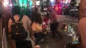 Caught On Video: Man Punches Women [Video]