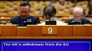 Watch: 'Withdrawal agreement remains best and only deal possible,' says Juncker [Video]