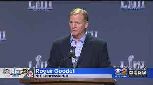 NFL Commissioner Roger Goodell Addresses Controversial Call In Rams-Saints Game [Video]