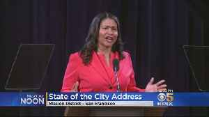 Mayor London Breed Focuses On Housing And Homelessnes In State Of The City Address [Video]