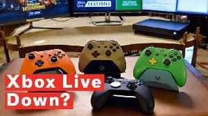 Xbox Live Down? Users Experience Problems Logging In With Black Screen And Error Message [Video]